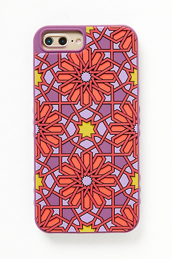 Slide View 2: Kaleidoscopic Silicone Case