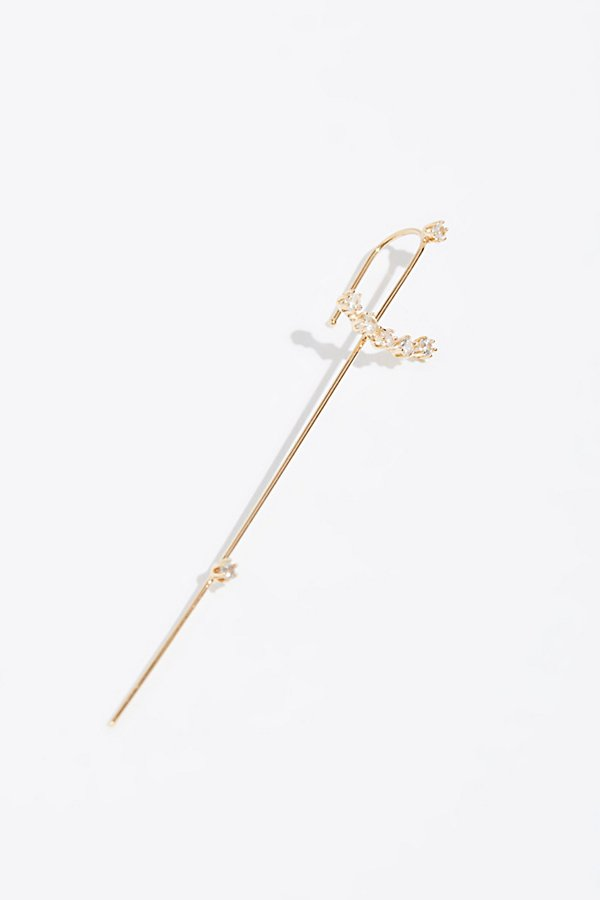 Slide View 1: 14k Magic Wand Sapphire Earring