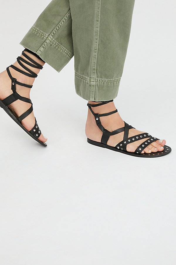 Slide View 1: Steeler Stud Wrap Sandal