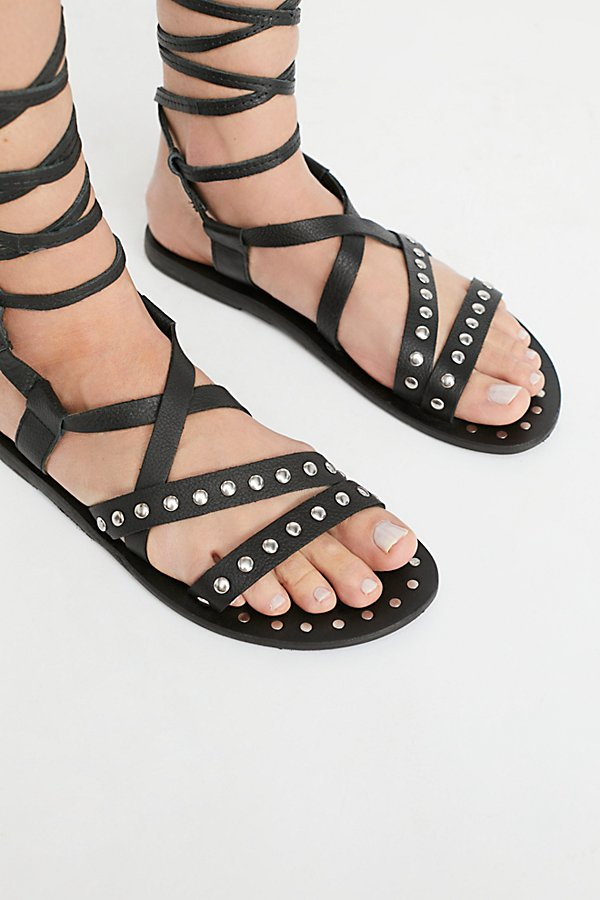 Slide View 3: Steeler Stud Wrap Sandal