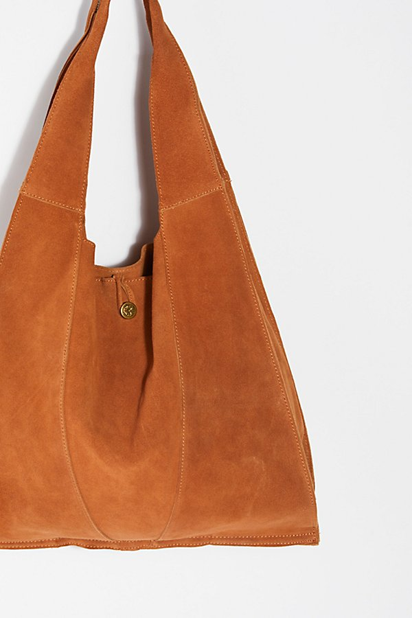 Slide View 3: Slouchy Suede Hobo