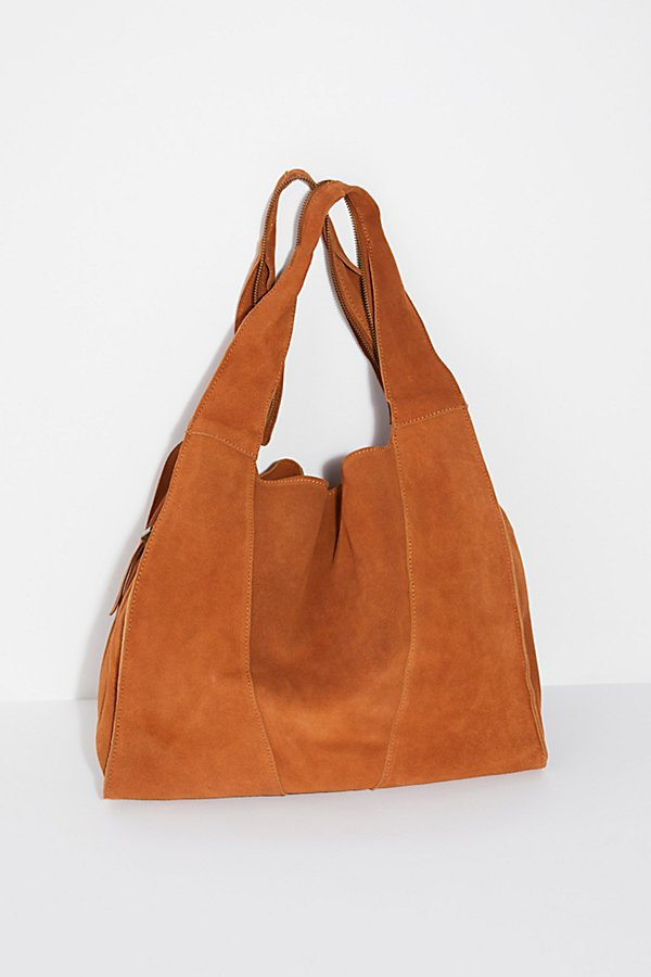 Slide View 5: Slouchy Suede Hobo