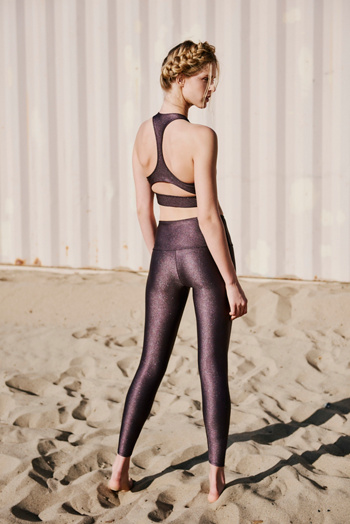 Slide View 2: High Basic Midi Legging