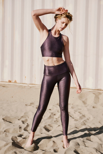 Slide View 3: High Basic Midi Legging