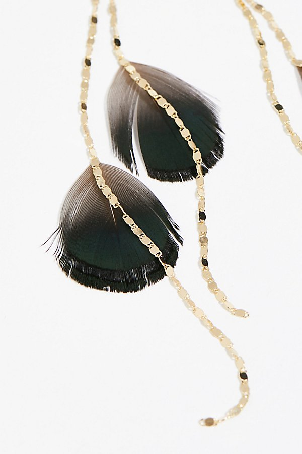 Slide View 3: Feather Fringe Earring