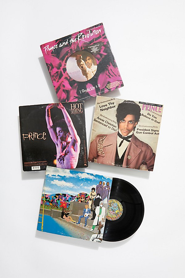 Slide View 1: Prince Vintage Record Collection