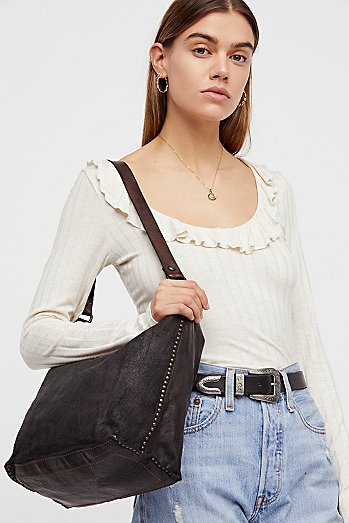 Sierra Distressed Hobo