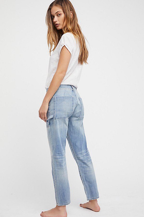 Slide View 2: Leah Denim Cargo Trousers